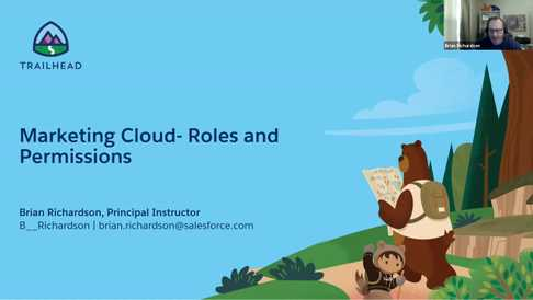 Marketing Cloud - Roles and Permissions